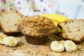 Gourmet Banana Muffins