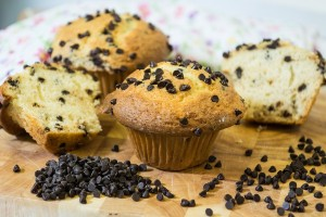 Gourmet Chocolate Chip Muffins