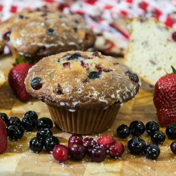 Very Berry | Muffins on Main Street